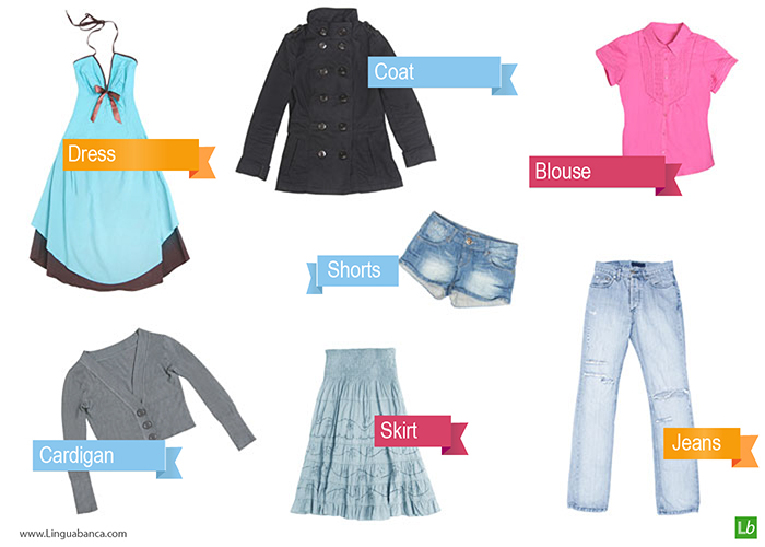 Clothing And Related Verbs
