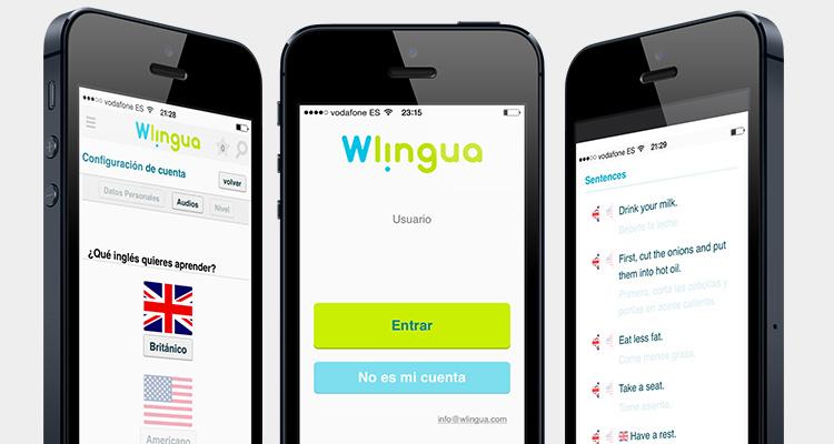 Resultado de imagen para wlingua app